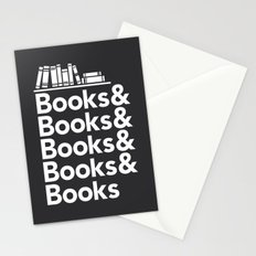Books & Books & Books Stationery Cards