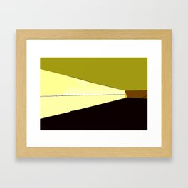 noon Framed Art Print