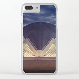 HEMISFÈRIC Clear iPhone Case