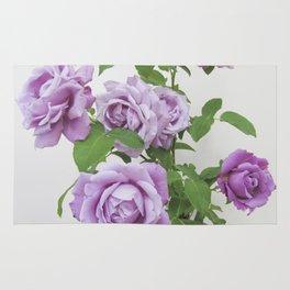 winter rose . image Rug