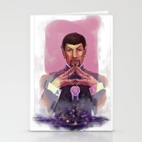 spock Stationery Cards featuring Spock by Tsuru