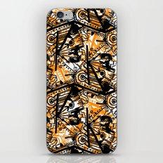 Aztec Pattern Orange iPhone & iPod Skin