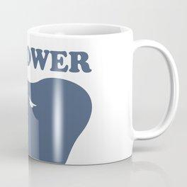 Elephant power #society6 #decor #buyart #artprint Coffee Mug