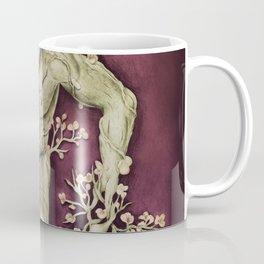 Entangled - Gold & Burgundy Coffee Mug