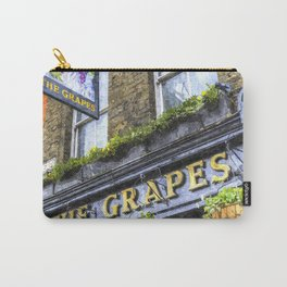 The Grapes Pub London Art Carry-All Pouch