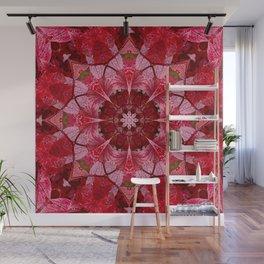 Cranberrybush Viburnum mandala Wall Mural
