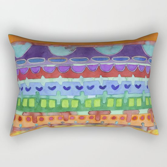 Over the Rainbow Rectangular Pillow