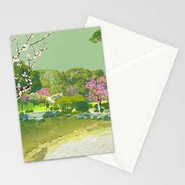 Ume Blossoms Stationery Cards