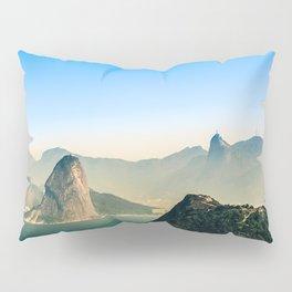 Rio de Janeiro Panoramic Photography Pillow Sham