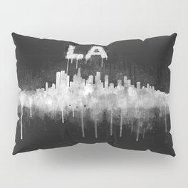 Los Angeles City Skyline HQ v5 WB Pillow Sham