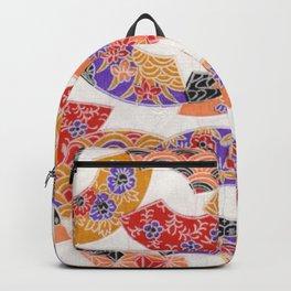 Oriental pattern Backpack