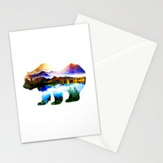 Mixed Landscape Bear Stationery Cards