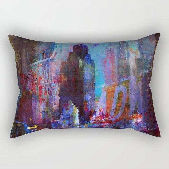 slice of the city Rectangular Pillow