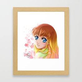 Le voyage de Hana Framed Art Print