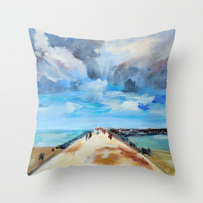 The Breakwater Throw Pillow