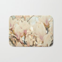 Magnolia and Cream Bath Mat