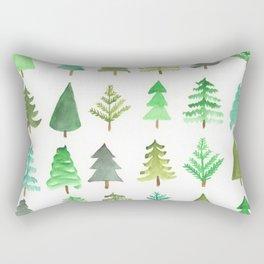 Tree Farm Rectangular Pillow
