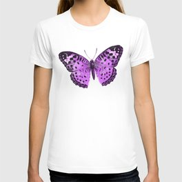 Luxurious Lilac-Pink Butterfly T-shirt