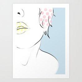 Throwback Art Print