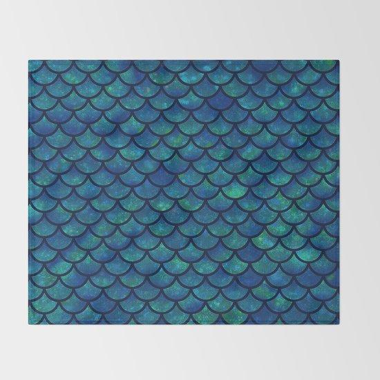 Mermaid scales iridescent sparkle by martaolgaklara