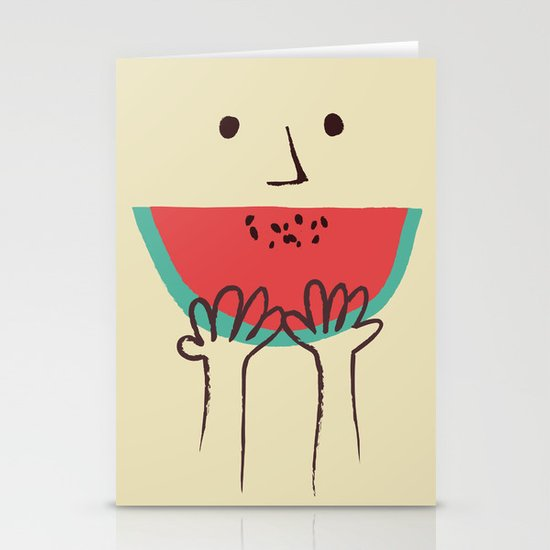 Summer smile Stationery Cards