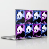 pandas Laptop & iPad Skins featuring Pandas by GrOoVy Photo Art