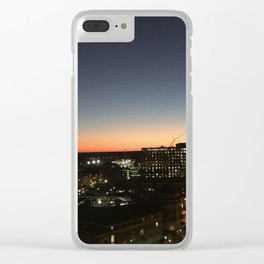 RVA at Dusk Clear iPhone Case