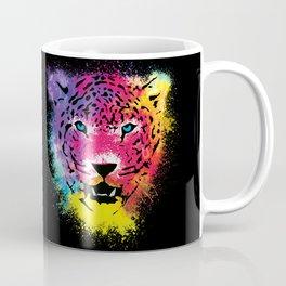Tiger - Colorful Paint Splatters Dubs Coffee Mug
