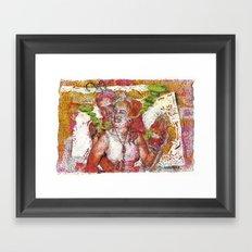 Copper Feels Framed Art Print