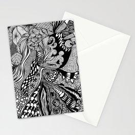 Metallic Heart Stationery Cards