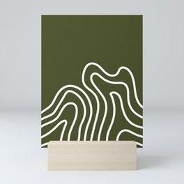 Leaf Thumbprint Mini Art Print
