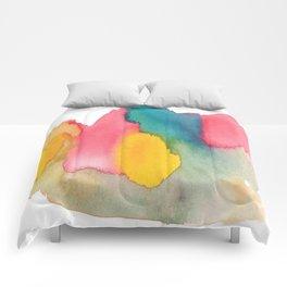 Watercolor 9 Comforters