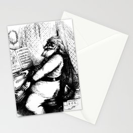 For he's a jolly good fellow, so say we all of us - Thomas Nast Stationery Cards