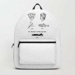 Flush Flask Flute Fish Flash Fun Backpack