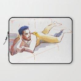 JODRAN, Nude Male by Frank-Joseph Laptop Sleeve