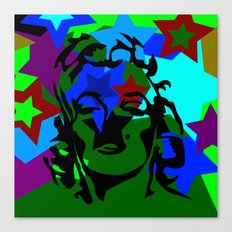 Pop Art Movie Star No. 1 Canvas Print