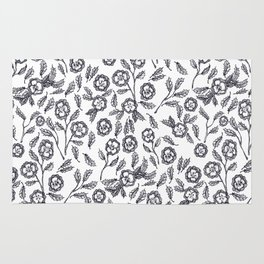 French Florals Rug