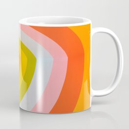Rainbow Abstract Coffee Mug