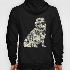 Pug Tattoo Hoody