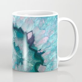 Teal Agate Coffee Mug
