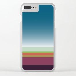 Santa Monica Horizon Clear iPhone Case