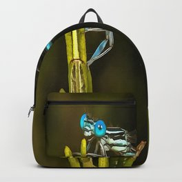 Common Blue Damselfly Backpack