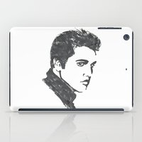 elvis iPad Cases featuring Elvis by Alessia Bogdanich