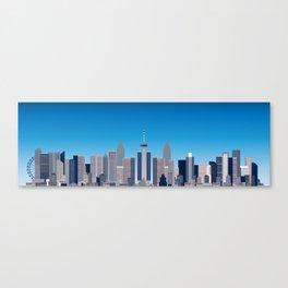 Future Cityscape 001 Canvas Print