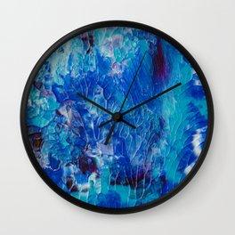 Underwater Coral Reef Painting Wall Clock