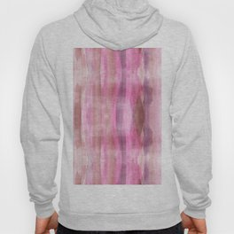 Pink White & Brown Modern Fluid Colors background Hoody