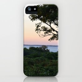 When the Night Sky Touches the Ocean iPhone Case