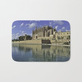 Palma Cathedral Panorama Bath Mat