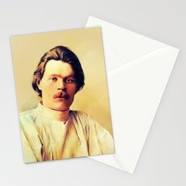 Maxim Gorky, Literary Legend Stationery Cards