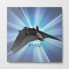 F-302 design 2 Metal Print